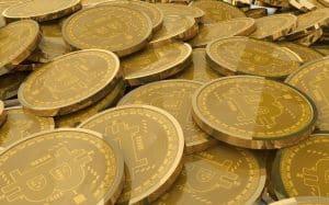 Pièces bitcoin